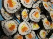 Hausgemachtes Sushi