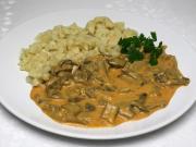 Austernpilz - Paprikasch