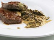Steaksauce mit Pilzen