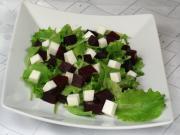 Rote Bete - Salat mit Ziegenkäse