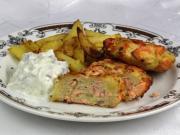 ActiFry Lachsfleischbällchen mit Bratkartoffeln