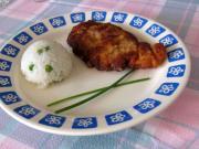 Hühnerschnitzel in Joghurt - Marinade