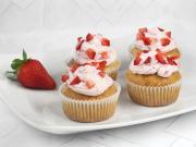 Erdbeer-Cupcakes mit Mascarpone Frosting