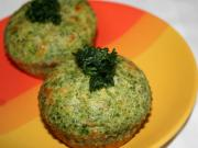 Spinat - Muffins