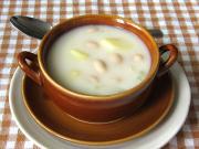 Bohnen - Milchsuppe