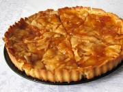Traditioneller französischer Apfelkuchen