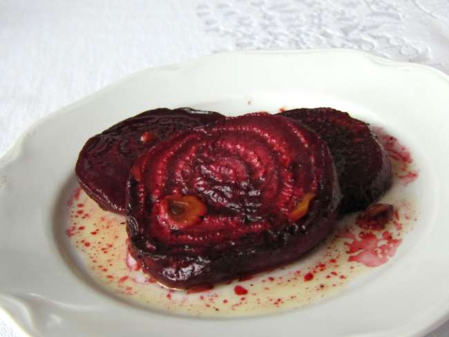 Gebratene Rote Bete Mit Knoblauch Rezept Weltinmirde