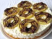 Ungebackene Quark-Reis-Torte