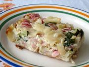 Schinkenflecken mit Zucchini