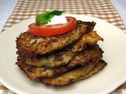 Kartoffeln-Kohlrabi Puffer