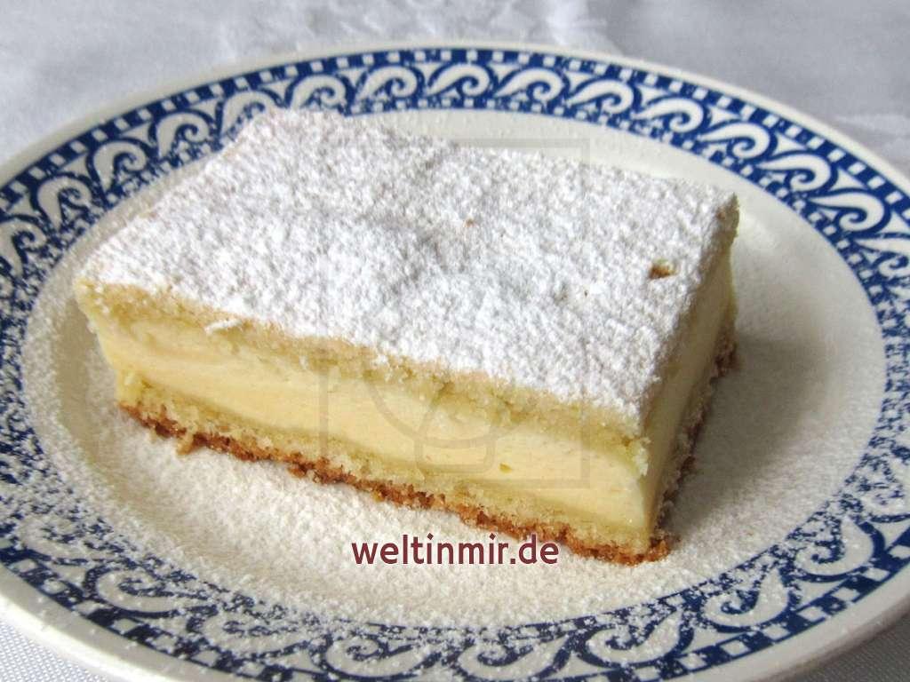 Quarkkuchen • Rezept   weltinmir.de