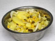 Kartoffel-Mais-Salat ohne Mayonnaise
