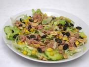 Eissalat mit Thunfisch