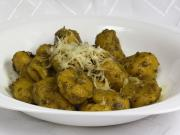 Kürbis Gnocchi mit Pesto