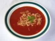 Tomatensuppe mit Quinoa