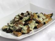 Tofu mit gegrilltem Gemüse und Tahini Sauce