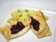 Camembert Käse in Blätterteig