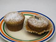 Honig Muffins mit Pflaumen