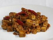 Tofu mit Bohnen