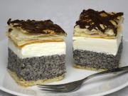 Mohn-Cremekuchen