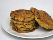 Selleriepfannkuchen mit Käse