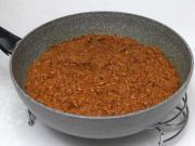 Sauce aus gekochtem Rindfleisch