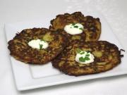 Gemüse Kohlrabi-Zucchini Fladen