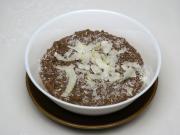 Schoko- Hirsebrei mit Kokos