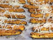 Süßkartoffeln mit Parmesankäse