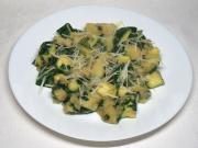 Zucchini Kartoffeln mit Bärlauch