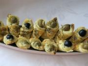Käsetüte mit Oliven