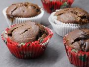 Kakaomuffin mit Schokolade